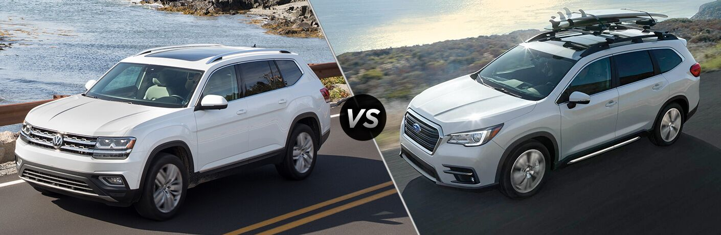 2018 Volkswagen Atlas vs 2019 Subaru Ascent
