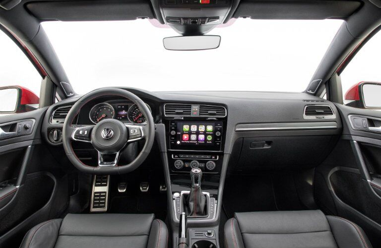 2018 Volkswagen Golf GTI dash and display