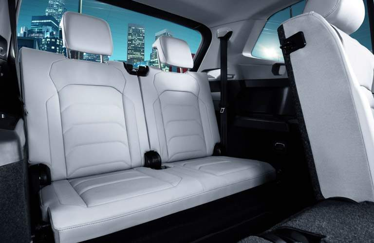 Rear seats of 2018 Volkswagen Tiguan