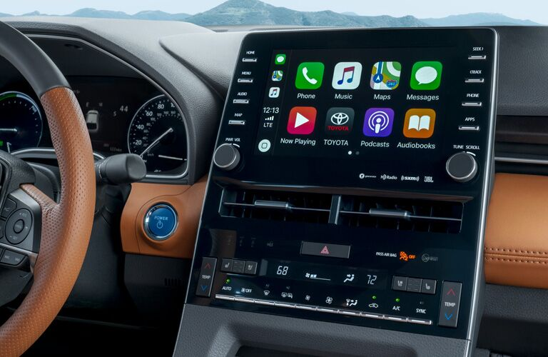 Touchscreen in the 2019 Toyota Avalon Hybrid