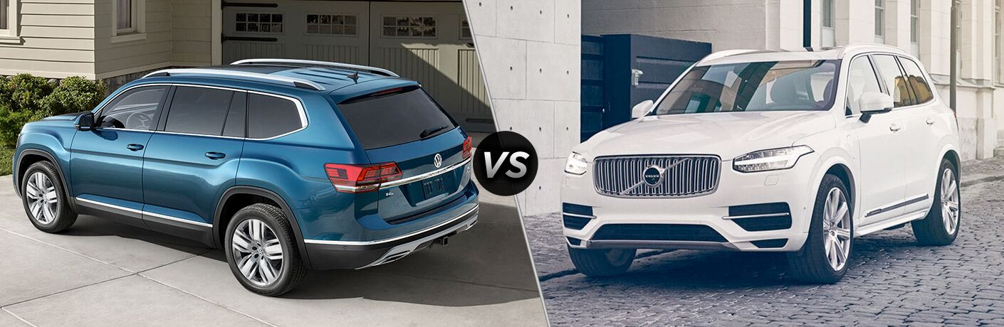 2019 VW Atlas vs. Volvo XC90