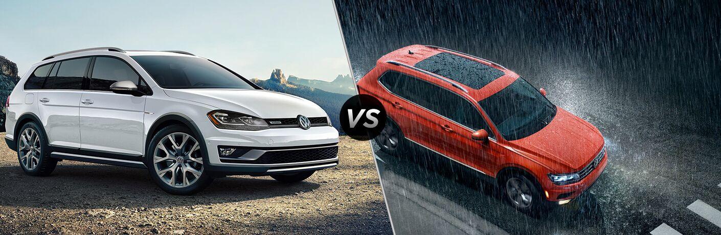 2019 Volkswagen Golf Alltrack vs. 2019 Volkswagen Tiguan