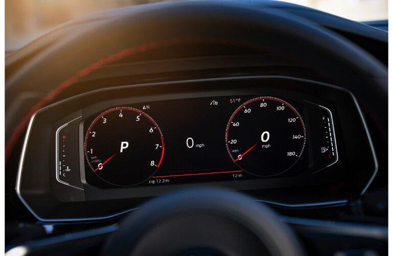 2019 VW Jetta GLI driver information display