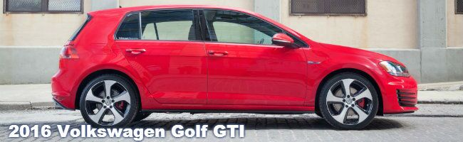 2016 VW Golf GTI specs and information