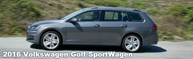 2016 VW Golf SportWagen specs and information