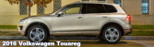 2016 VW Touareg specs and features