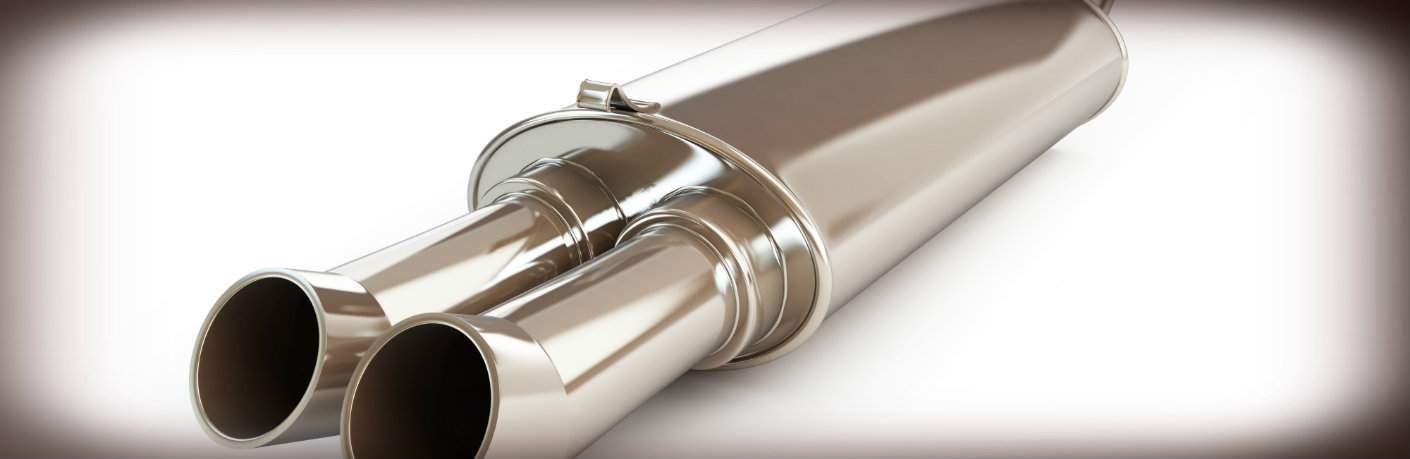 New muffler/exhaust system