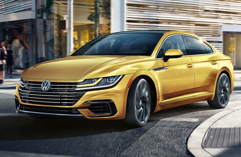 2019 Volkswagen Arteon parked