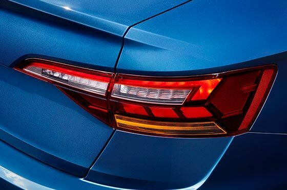 2019 Volkswagen Jetta's LED Taillights