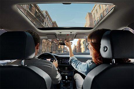 2019 Volkswagen Jetta's Panoramic sunroof