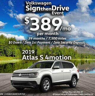 2018 Atlas S 4motion