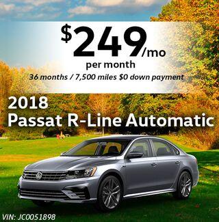 2018 Passat R-Line Automatic