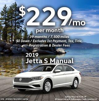 2019 Jetta S Manual