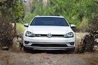 VW Golf awards