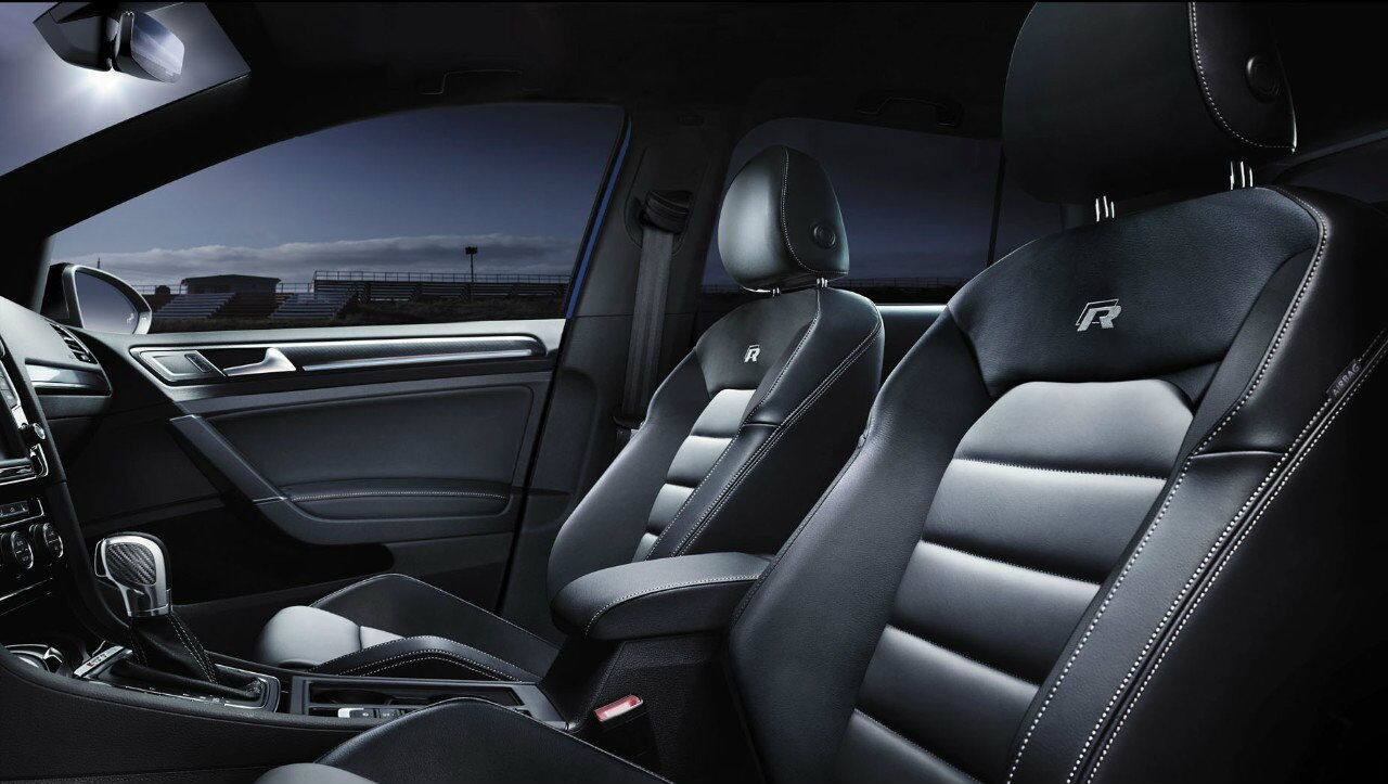2017 VW Golf R Seating