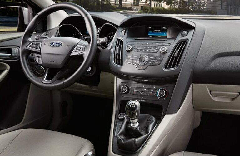 2016 Ford Focus infotainment system