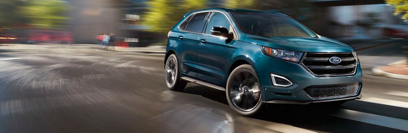 2017 Ford Edge in Blue