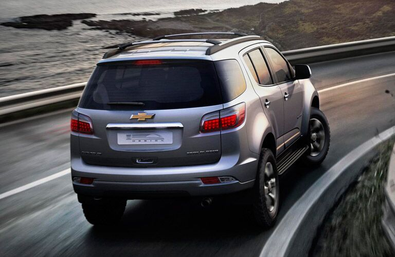 Rear end of the discontinued Chevrolet Trailblazer