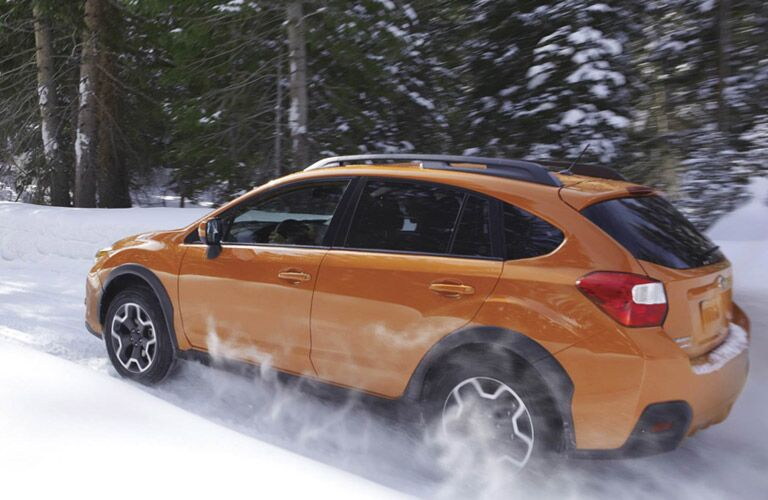 Orange Subaru Crosstrek