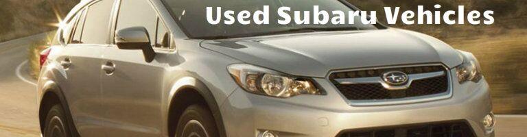 Used Subaru Vehicles Indianapolis, IN