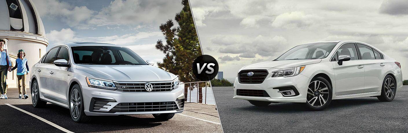 2019 VW Passat vs 2019 Subaru Legacy