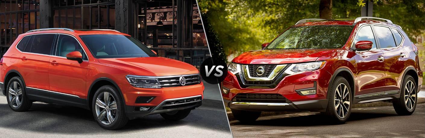 2019 Volkswagen Tiguan SE vs 2019 Nissan Rogue SV