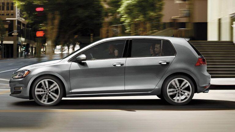 2016 Volkswagen Golf exterior side