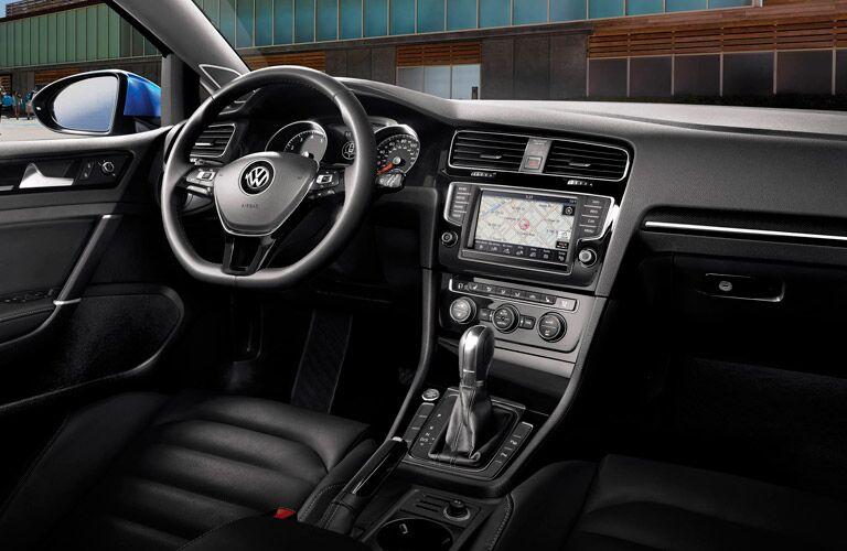 2016 volkswagen golf interior dashboard touchscreen