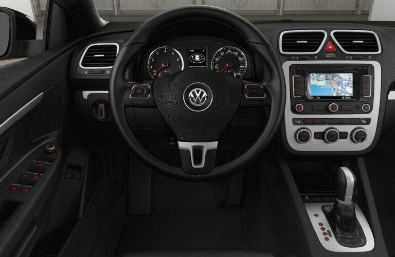 2016 VW Eos touchscreen navigation