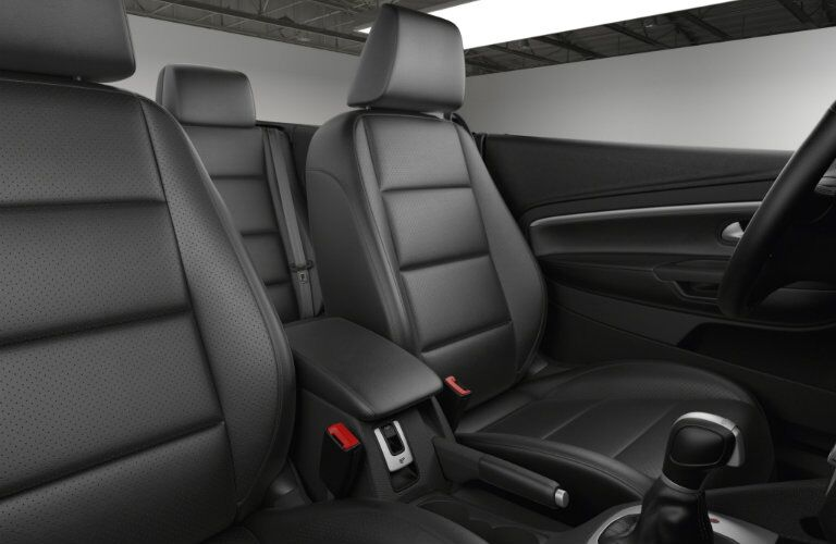 2016 VW Eos heated leather seats