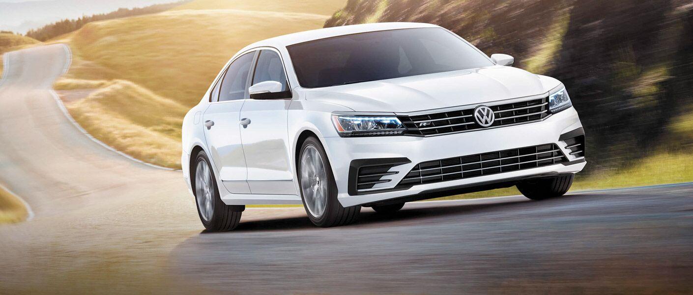 2017 Volkswagen passat white exterior grille headlights