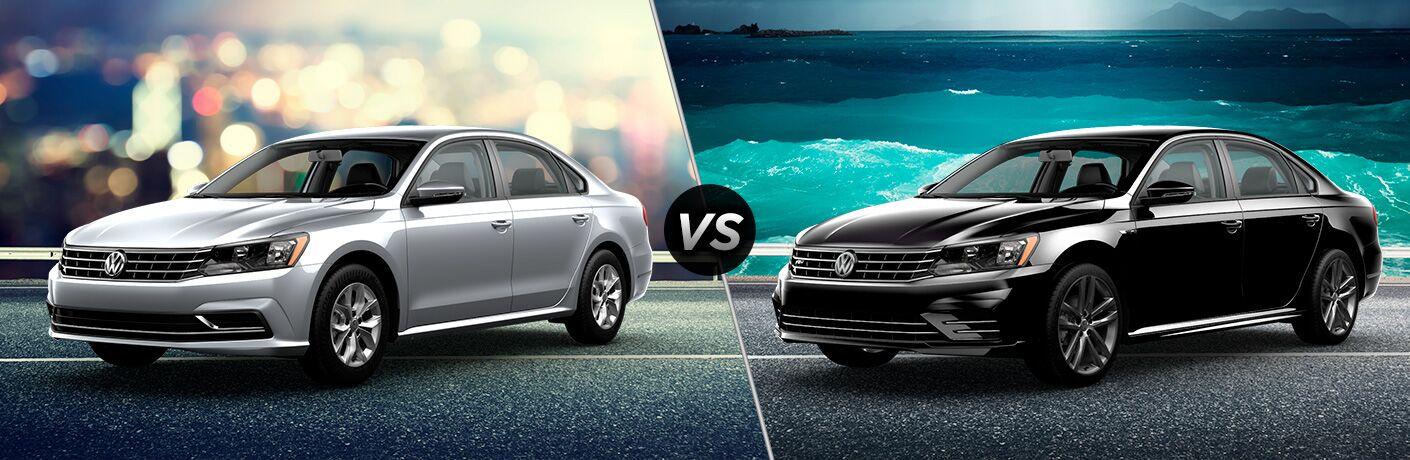 2018 Volkswagen Passat S vs 2018 Volkswagen Passat SE