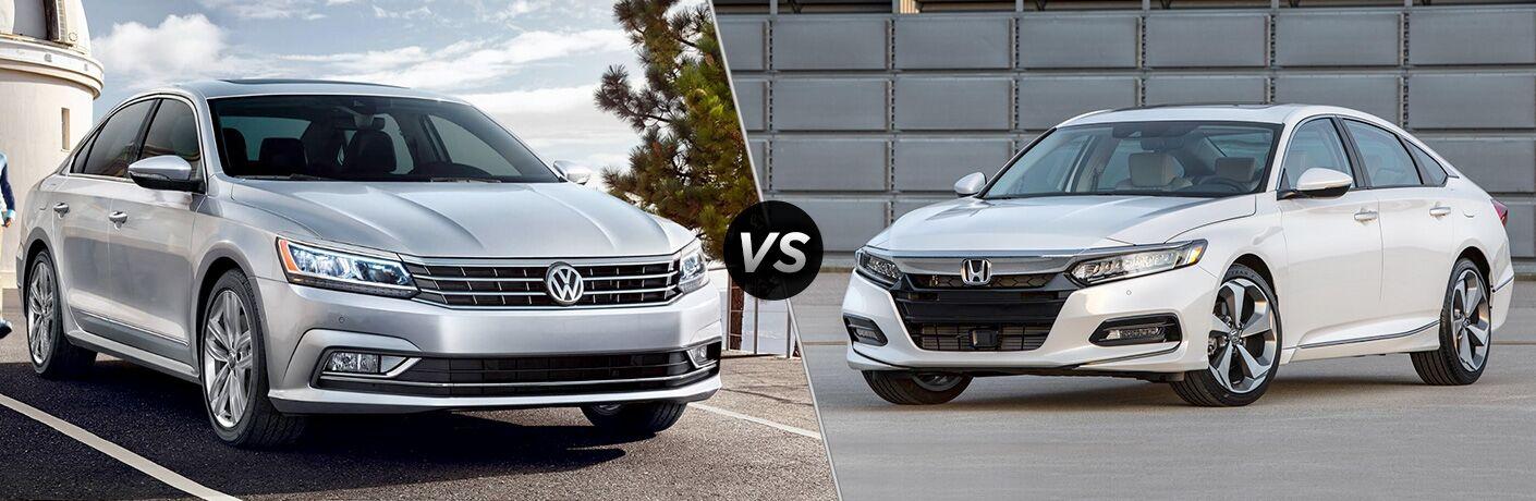 2018 Volkswagen Passat vs 2018 Honda Accord