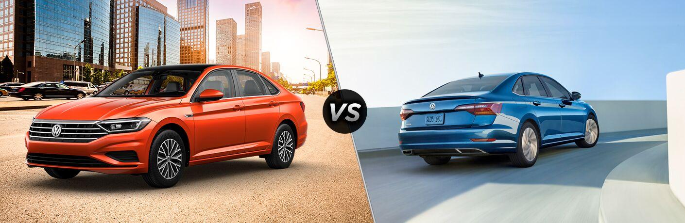 2019 Volkswagen Jetta SE vs 2019 Volkswagen Jetta R-Line