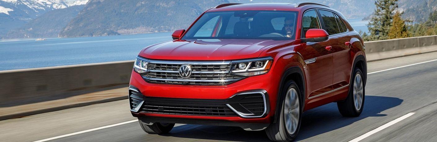 2022 Volkswagen Atlas on a highway