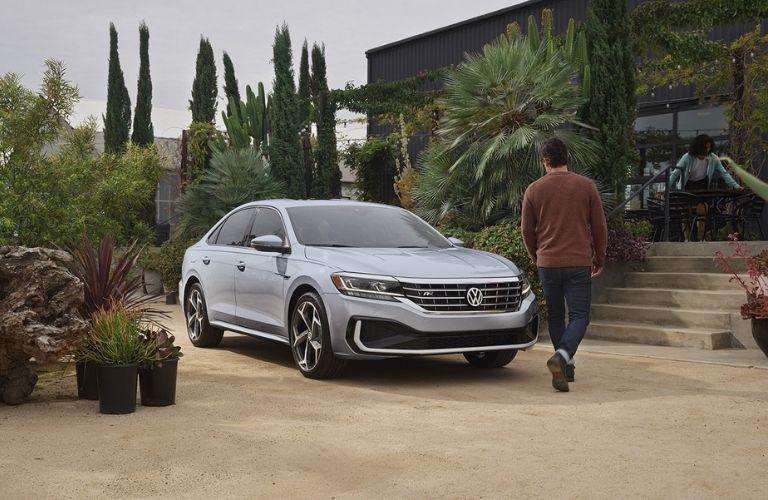 2022 Volkswagen Passat parked at a house