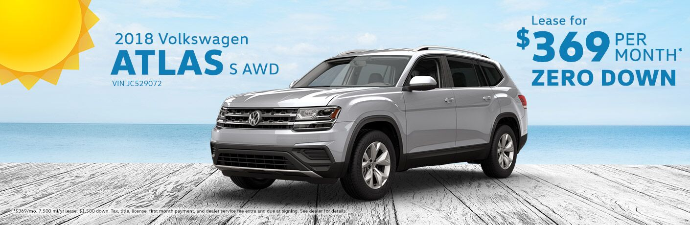 Volkswagen Atlas Lease Near Milwaukee Wi