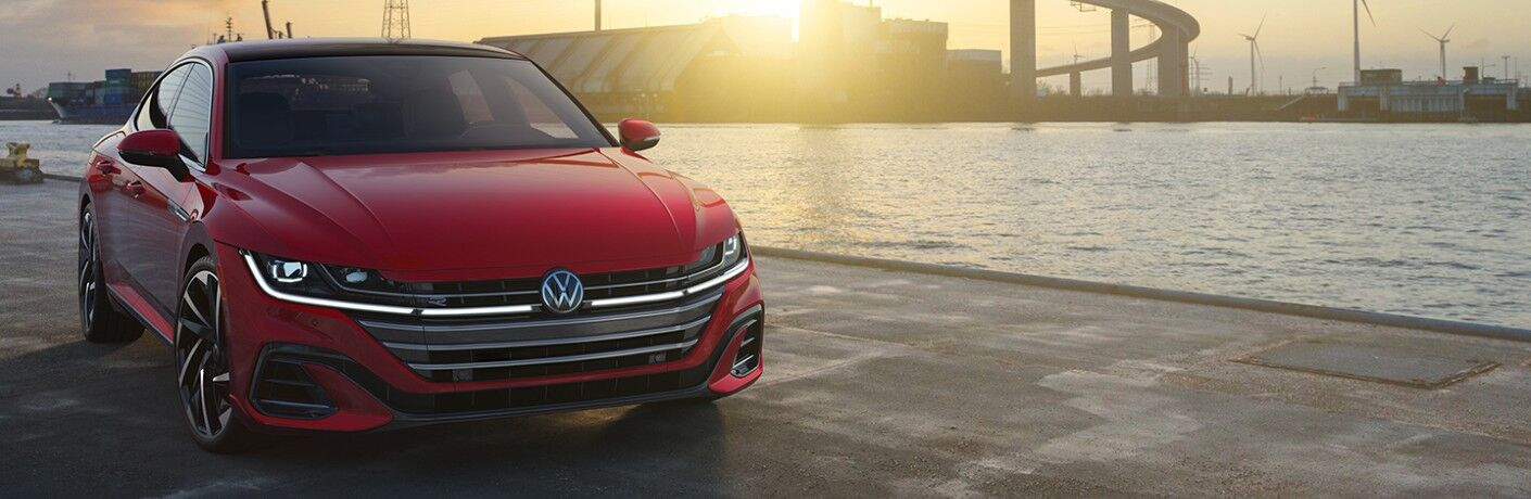 2021 Arteon parked by river