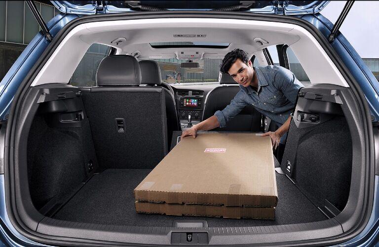 2021 Golf cargo space