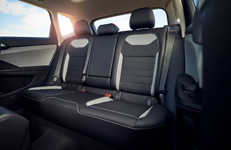 2022 Taos rear seats