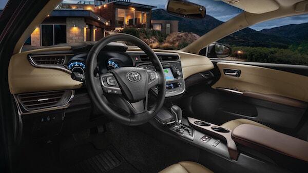 2016 Toyota Avalon Interior