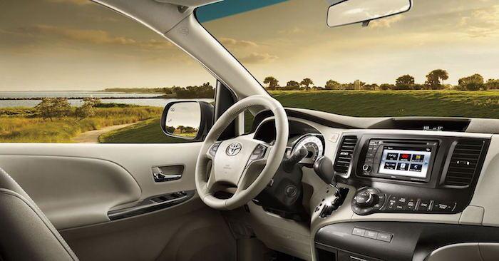 Used Toyota Sienna Interior