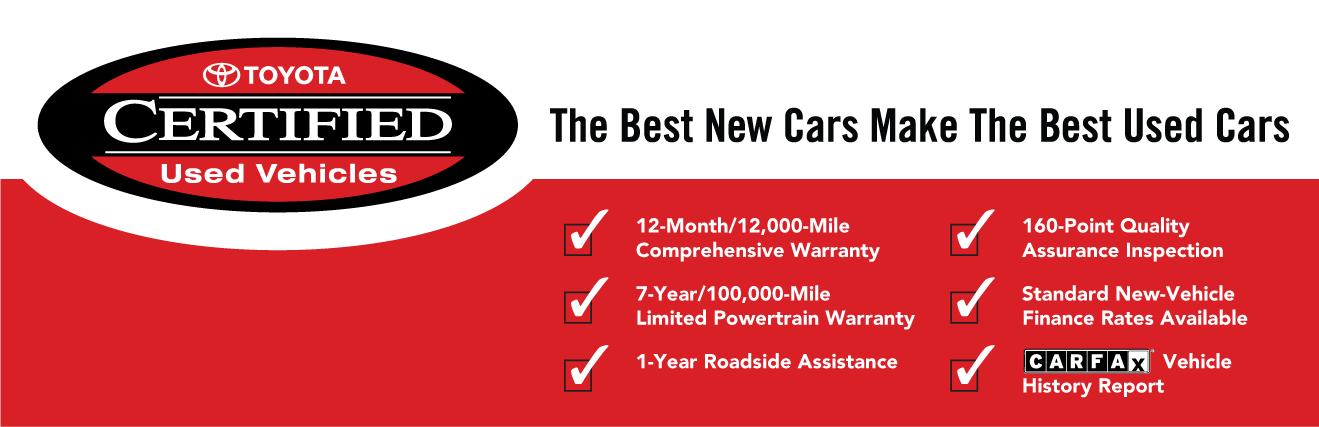 CPO Toyota Warranty