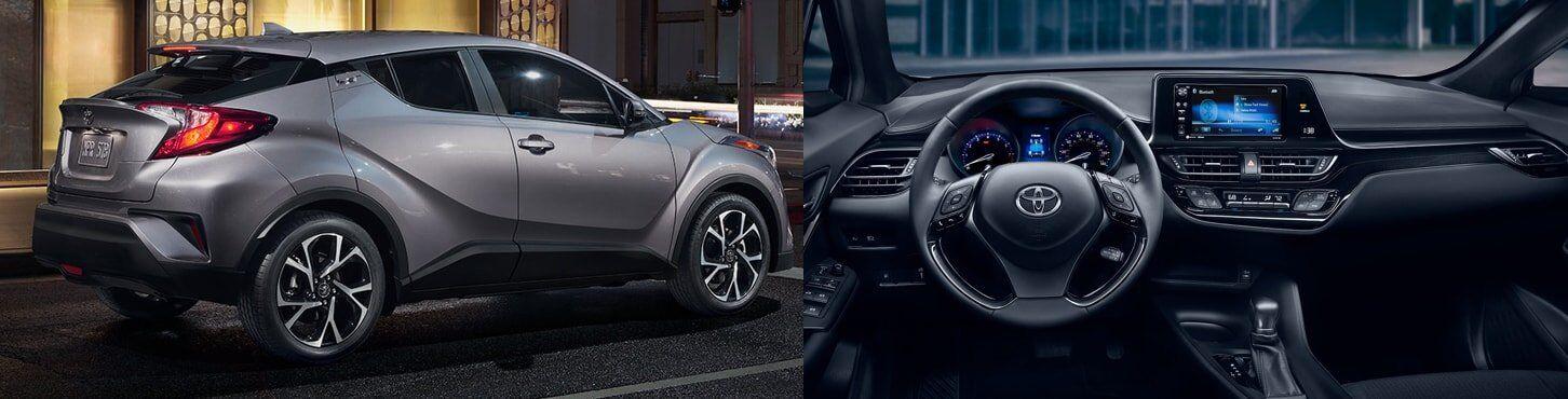 2018 Toyota C-HR Interior and Exterior
