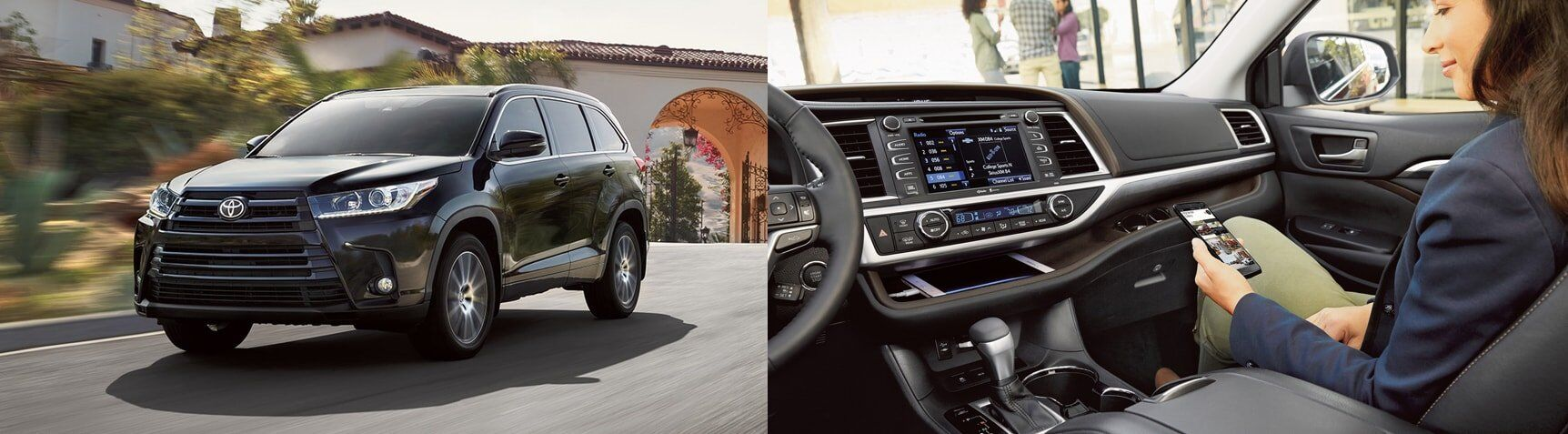 2017 Toyota Highlander Interior and Exterior