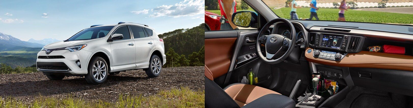 2017 Toyota RAV4 Interior and Exterior