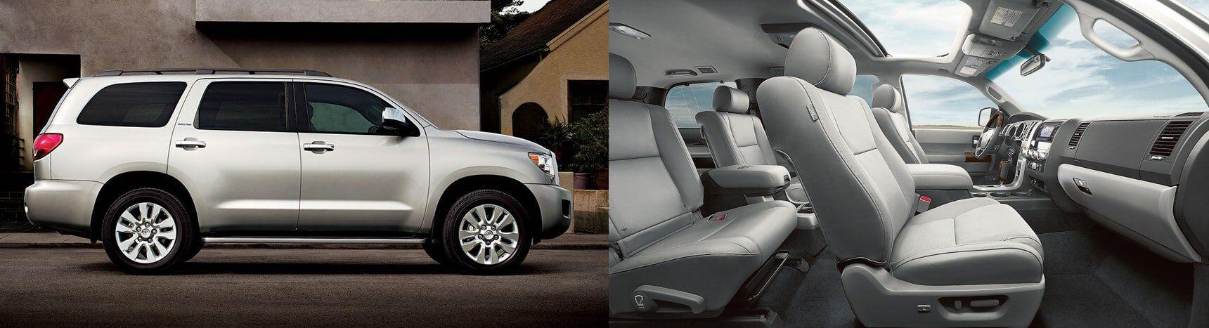 2017 Toyota Sequoia Interior and Exterior
