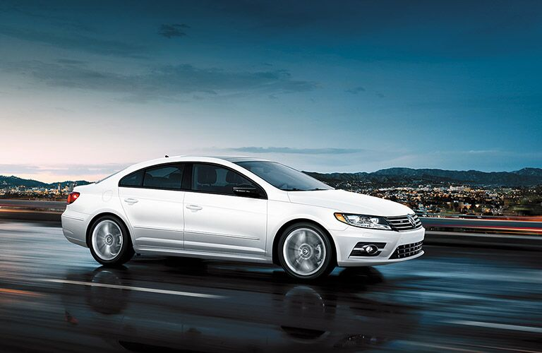 side view of the 2016 volkswagen cc
