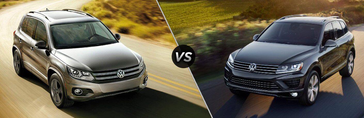 2017 VW Tiguan vs 2017 Volkswagen Touareg