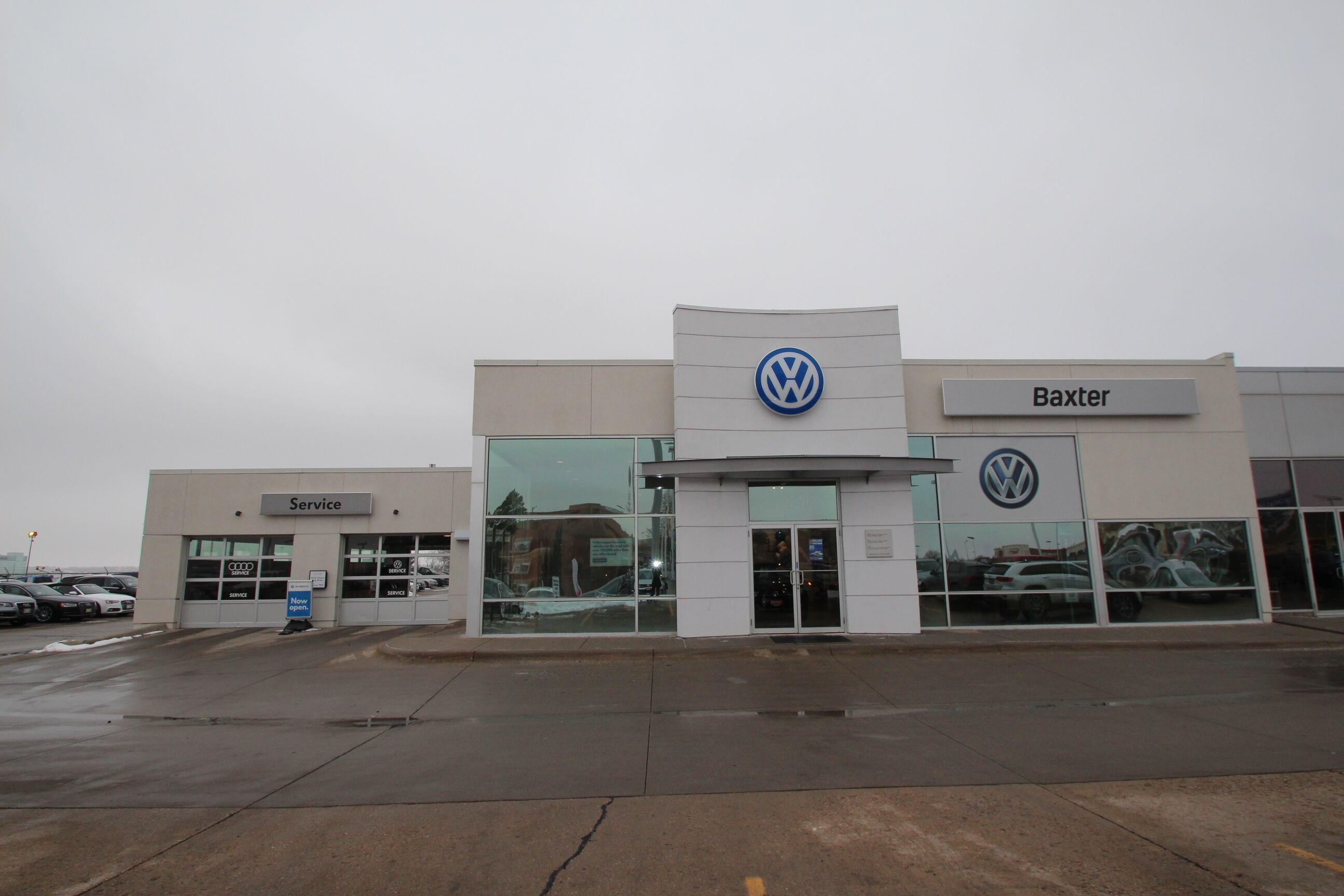 Store Front Baxter Volkswagen Westroads Omaha, NE